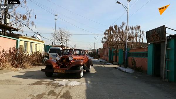 Chińska kopia samochodu Mercedes Benz 500k: 8 lat i 30 tysięcy dolarów - Sputnik Polska