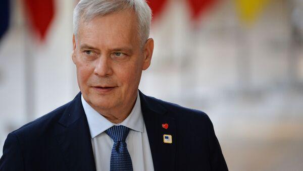Premier Finlandii Antti Rinne - Sputnik Polska