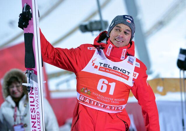 Polski skoczek narciarski Piotr Żyła