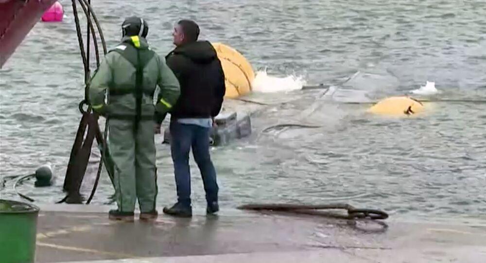 Łódź podwodną z trzema tonami kokainy dostarczony do hiszpańskiego portu Aldan