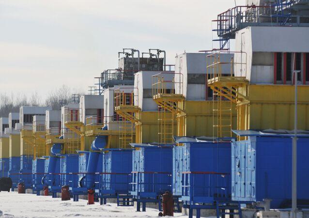 Zbiorniki gazu na Ukrainie