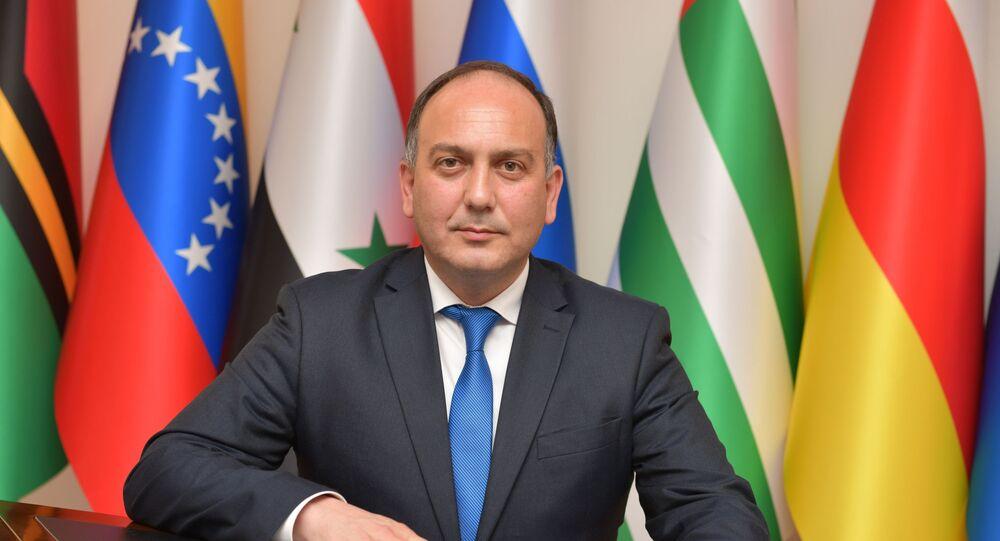 Minister spraw zagranicznych Abchazji Daur Kowe