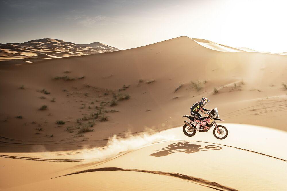 Matthias Walkner podczas Rally Du Maroc