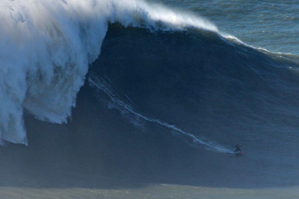 Surferka z Francji Justine Dupont