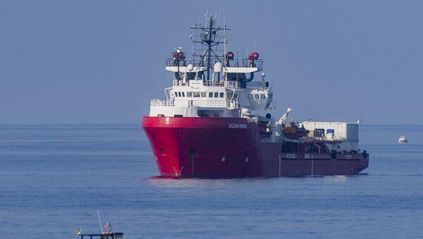 Statek ratowniczy Ocean Viking. Zdjęcie archiwalne - Sputnik Polska