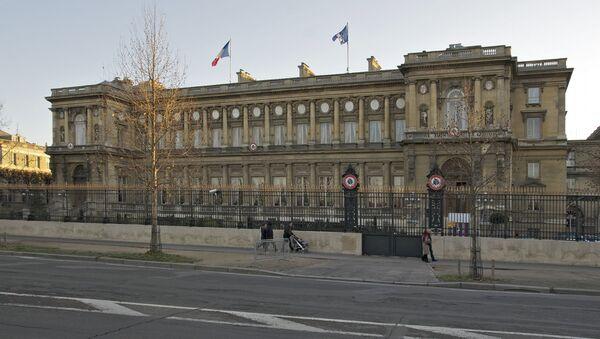 Siedziba MSZ Francji w Paryżu - Sputnik Polska