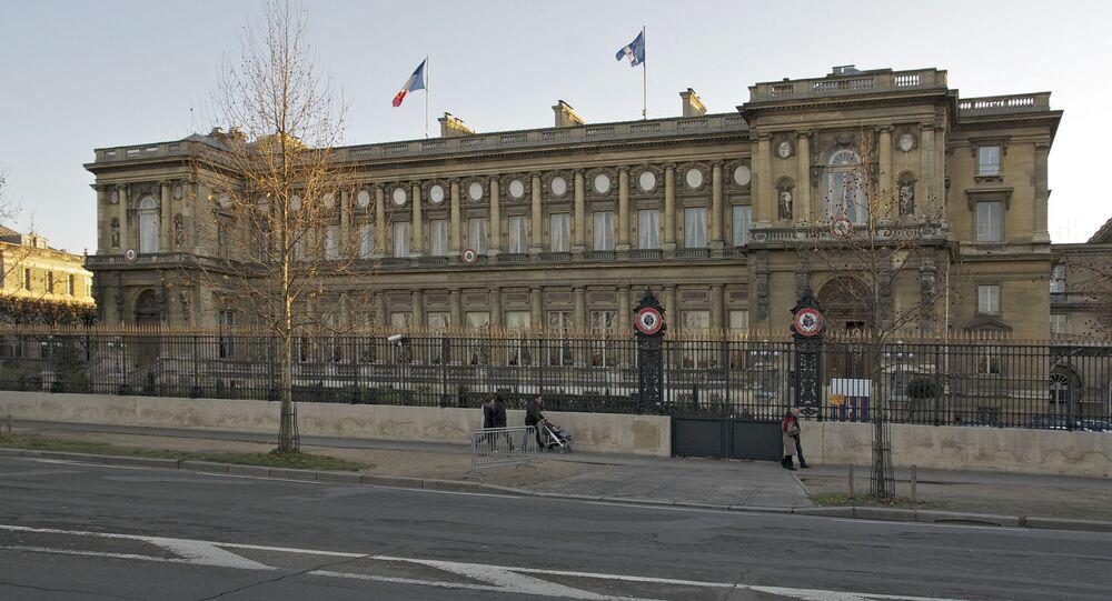 Siedziba MSZ Francji w Paryżu.