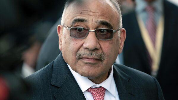 Adel Abdel Mahdi - Sputnik Polska