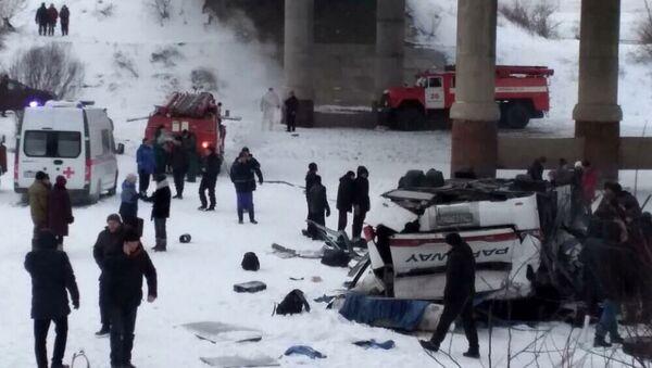Wypadek autobusu na Zabajkalu - Sputnik Polska