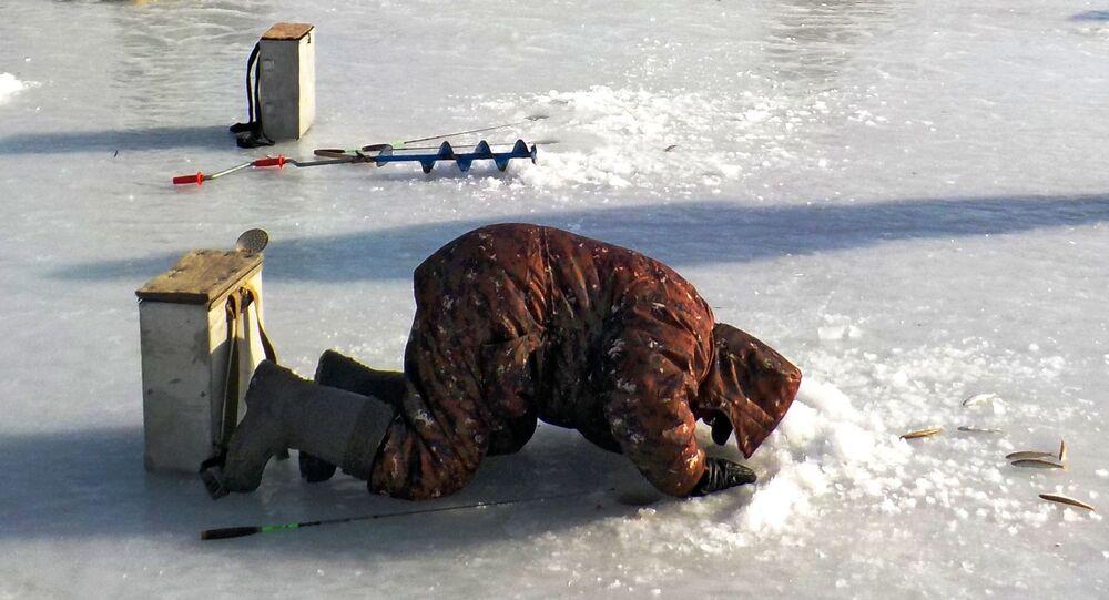 Wędkarstwo zimą