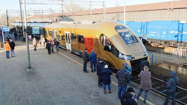"""Złoty pociąg """"Gdacjusz - Sputnik Polska"""