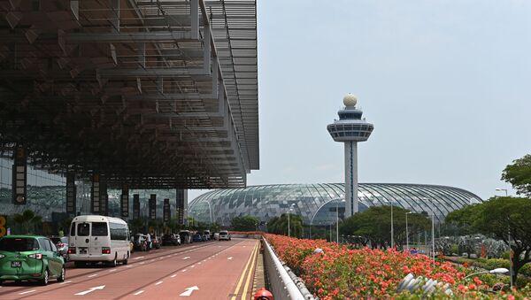 Lotnisko Changi w Singapurze - Sputnik Polska
