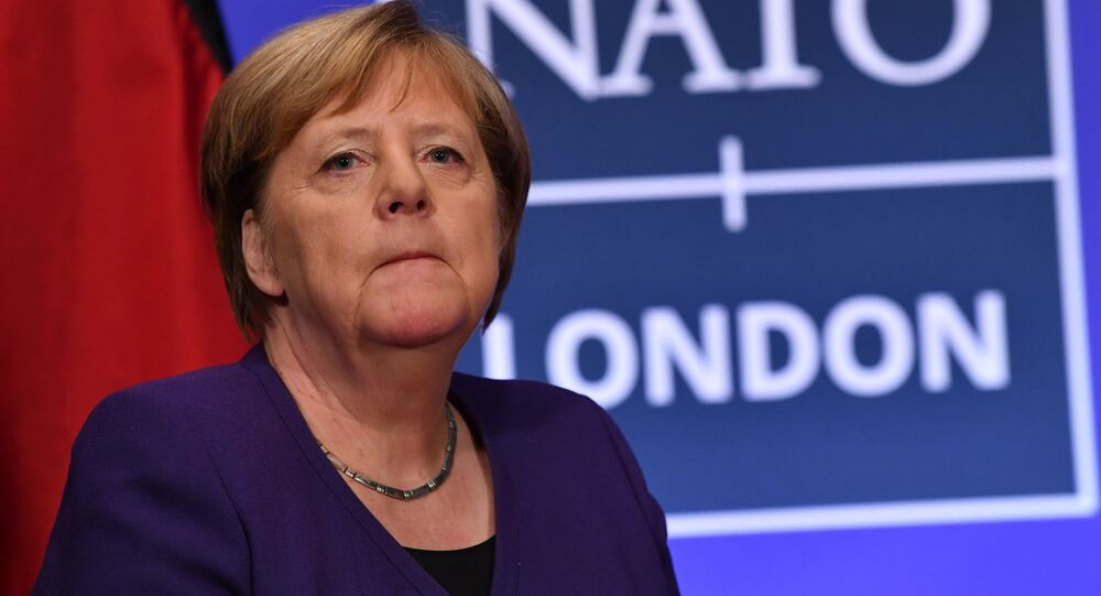 Kanclerz Niemiec Angela Merkel na szczycie NATO w Londynie