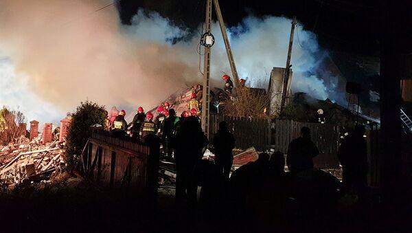 Wybuch gazu w Szczyrku - Sputnik Polska