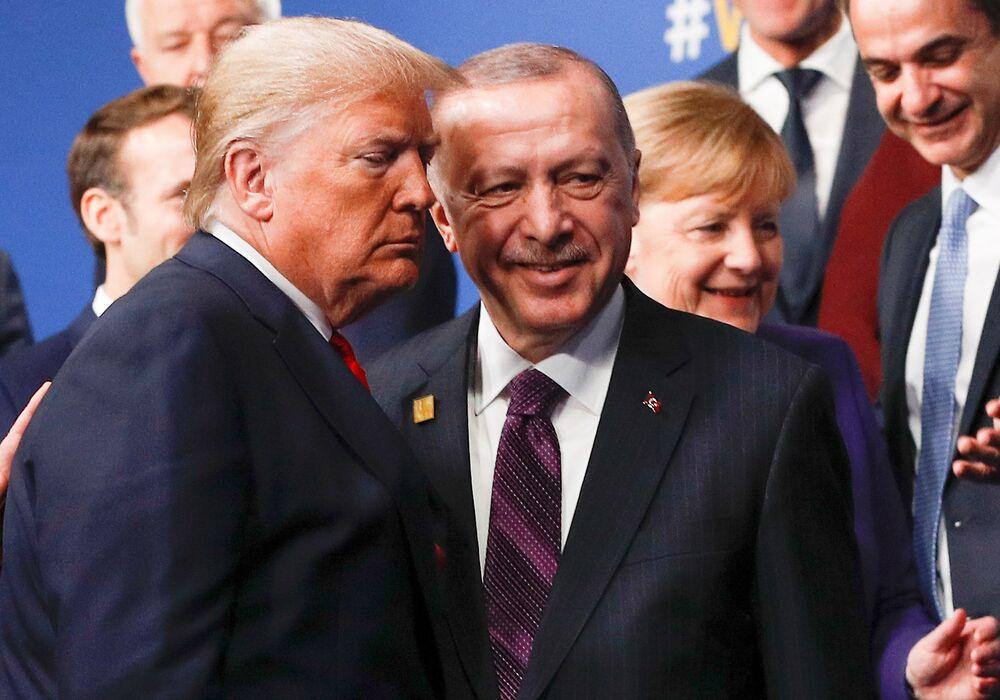 Prezydenci USA i Turcji na szczycie NATO w Londynie