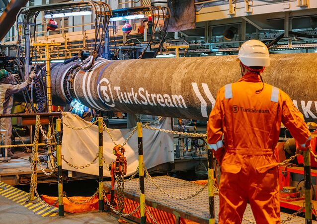 Budowa gazociągu Turecki Potok