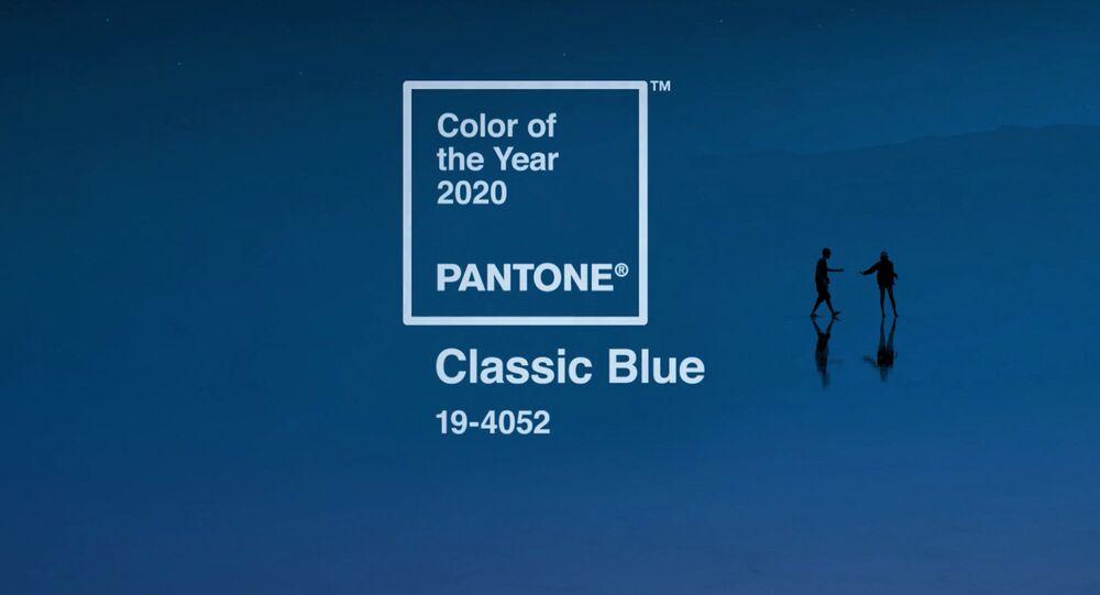 Klasyczny błękit - kolor 2020 roku według wersji Pantone