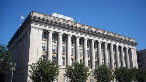 Siedziba OFAC w  Waszyngtonie - Sputnik Polska
