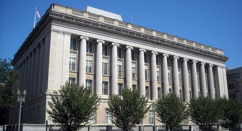 Siedziba OFAC w Waszyngtonie