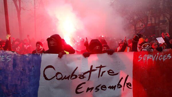 Protesty we Francji - Sputnik Polska