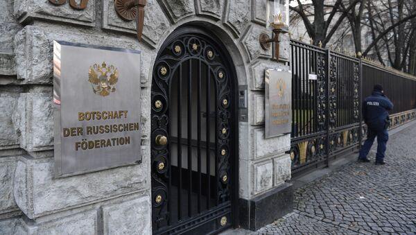 Ambasada Rosji w Berlinie - Sputnik Polska