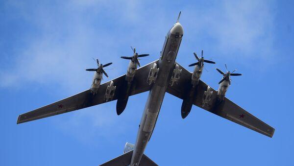 Bombowiec strategiczny Tu-95MS - Sputnik Polska