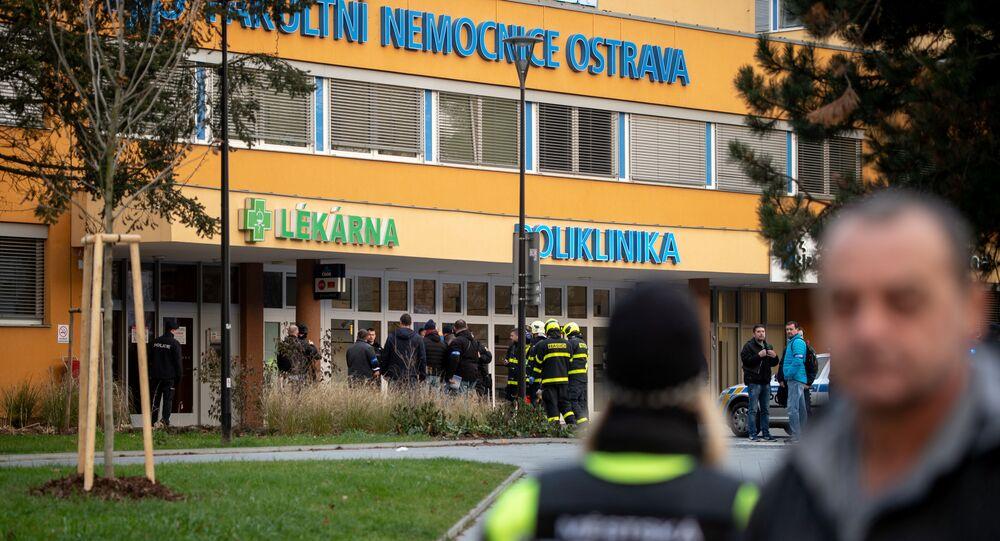 Strzelanina w szpitalu w Czechach