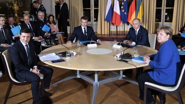 """Szczyt """"normandzkiej czwórki"""" w Paryżu - Sputnik Polska"""