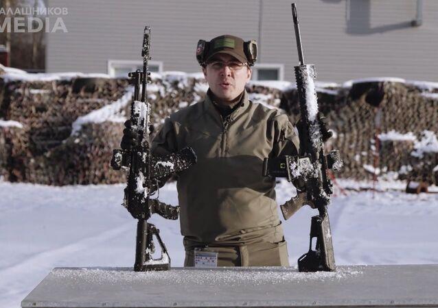 Porównanie karabiny AK-12 i M4
