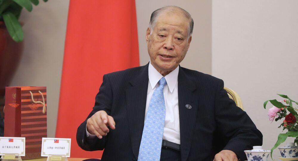 Były minister obrony Japonii Tokuichiro Tamazawa