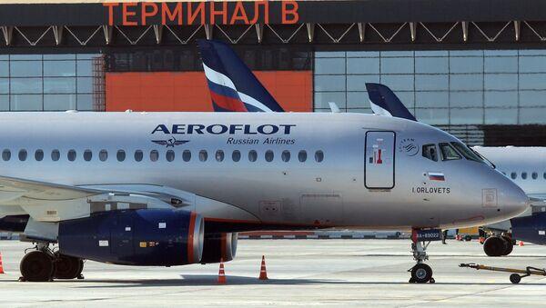 Linia lotnicza Aeroflot Airlines - Sputnik Polska