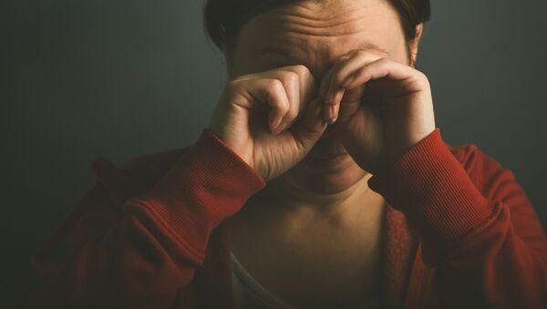 Płacząca kobieta - Sputnik Polska