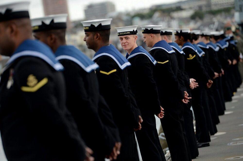 Brytyjscy marynarze