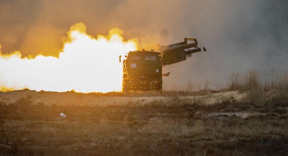 Start rakiety z amerykańskiej wyrzutni