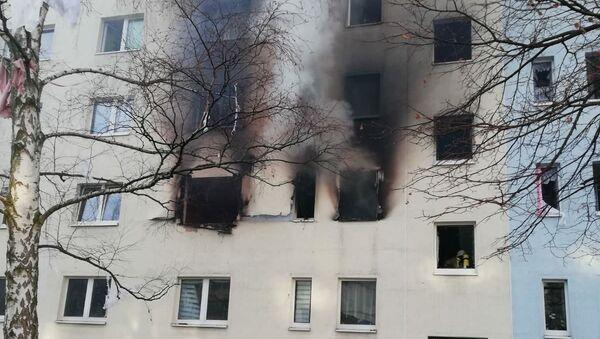 Wybuch w domu mieszkalnym w Niemczech - Sputnik Polska