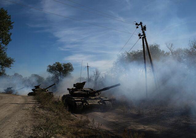 Wycofanie broni o kalibrze mniejszym niż 100 mm w Ługańskiej Republice Ludowej
