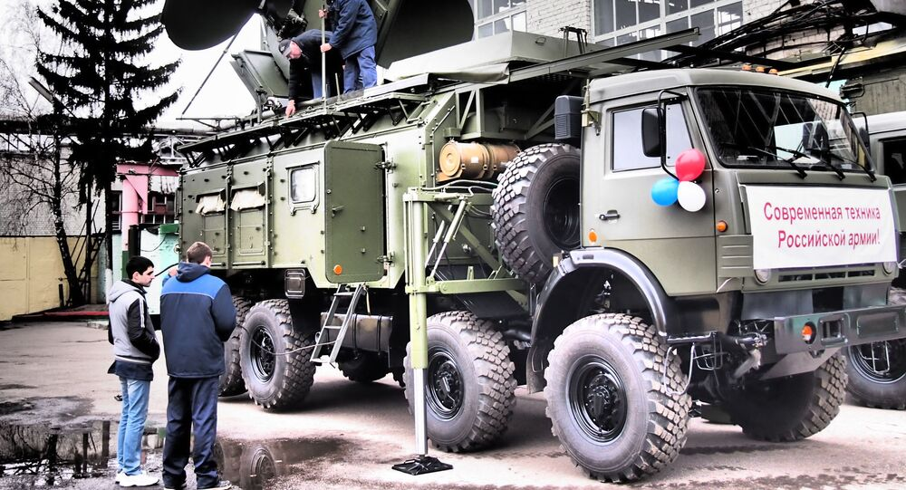 """System walki radioelektronicznej """"Krasuha-4"""""""