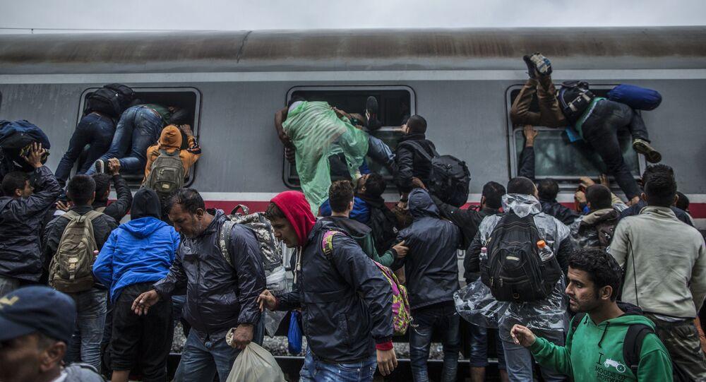 Chorwacja, migranci