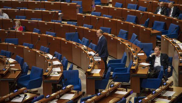 Posiedzenie Zgromadzenia Parlamentarnego Rady Europu. - Sputnik Polska