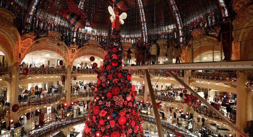 Centrum Handlowe Galeries Lafayette w Paryżu