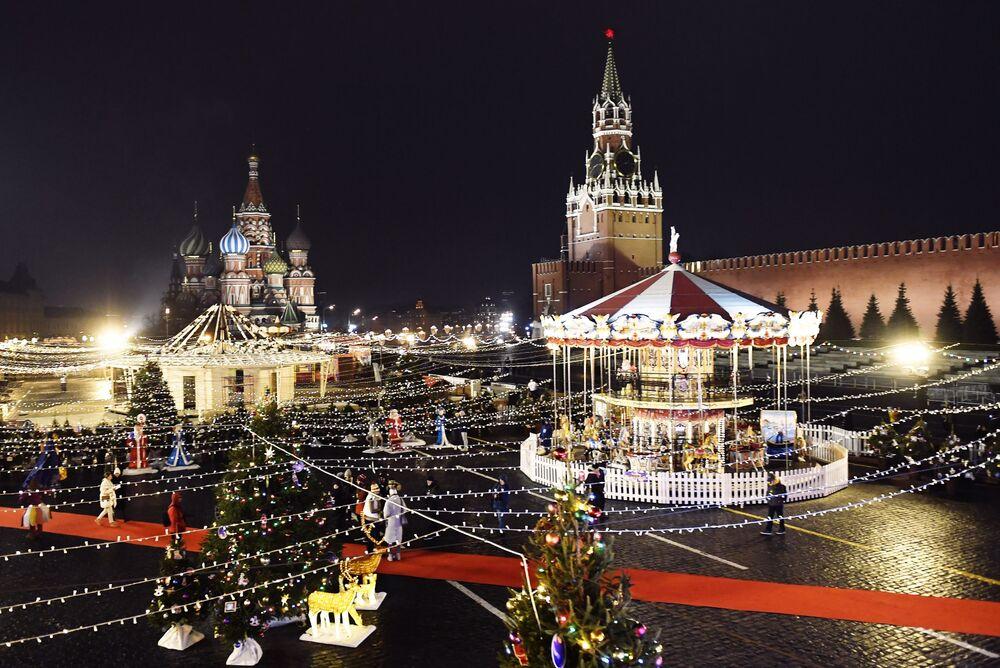 Plac Czerwony, Rosja