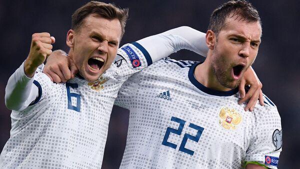 Eliminacje EURO-2020. Kazachstan-Rosja - Sputnik Polska