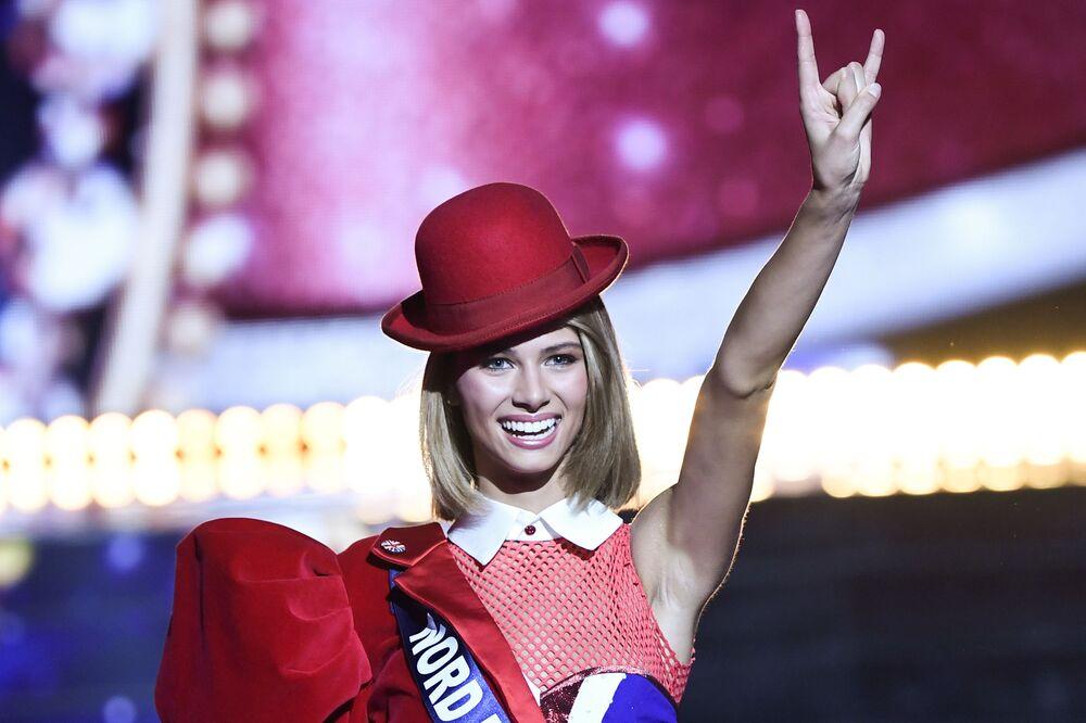 Uczestniczka konkursu piękności Miss Francji na rok 2020