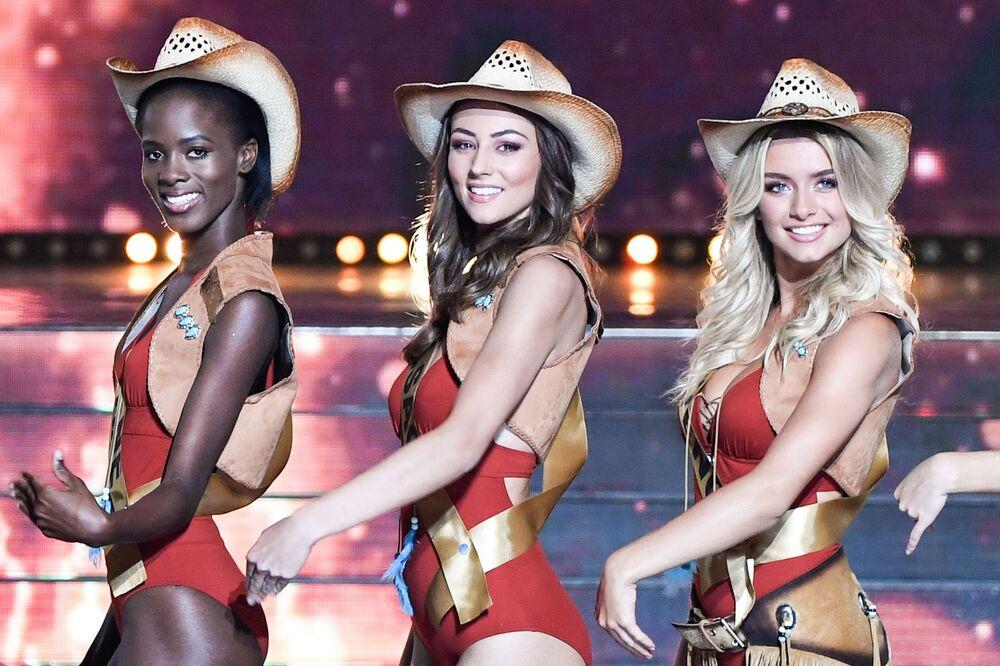 Uczestniczki konkursu piękności Miss Francji na rok 2020