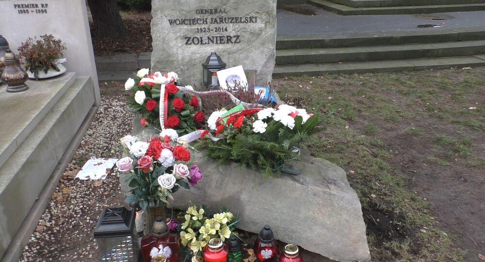 Grob generała Wojciecha Jaruzelskiego.