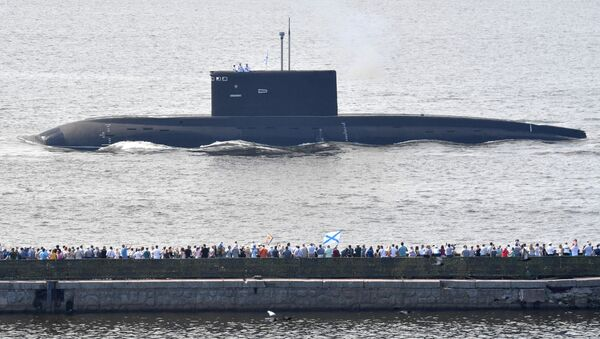 Okręt podwodny Władykaukaz w Kronsztadzie. - Sputnik Polska