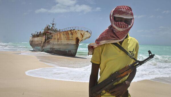 Somalijski pirat - Sputnik Polska