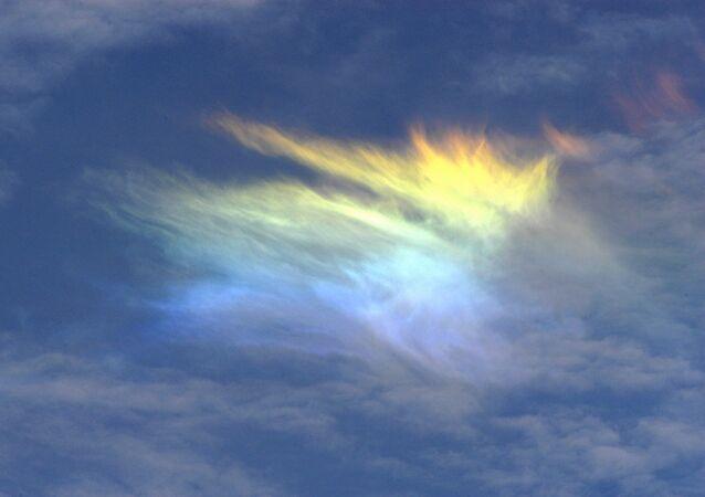 Iryzacja na chmurach