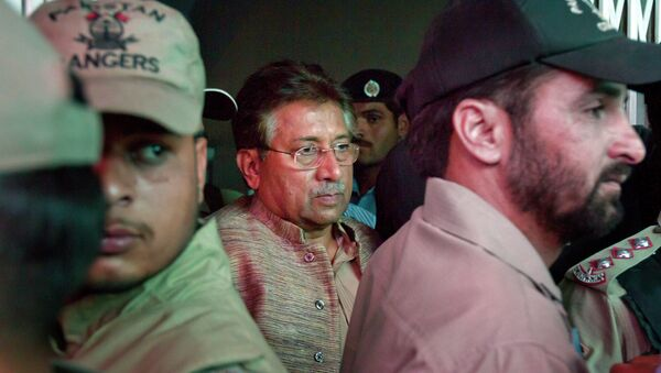 Były prezydent Pakistanu Pervez Musharraf - Sputnik Polska