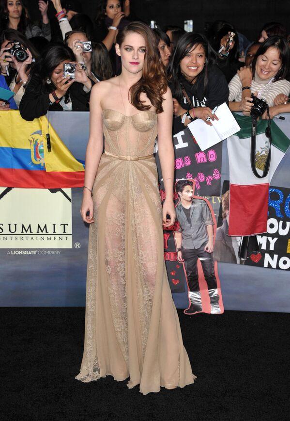 Kristen Stewart w 2012 roku - Sputnik Polska